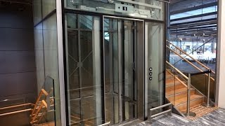 2017 KONE MonoSpace MRL traction elevator @ Oslo Gardermoen Airport (OSL)