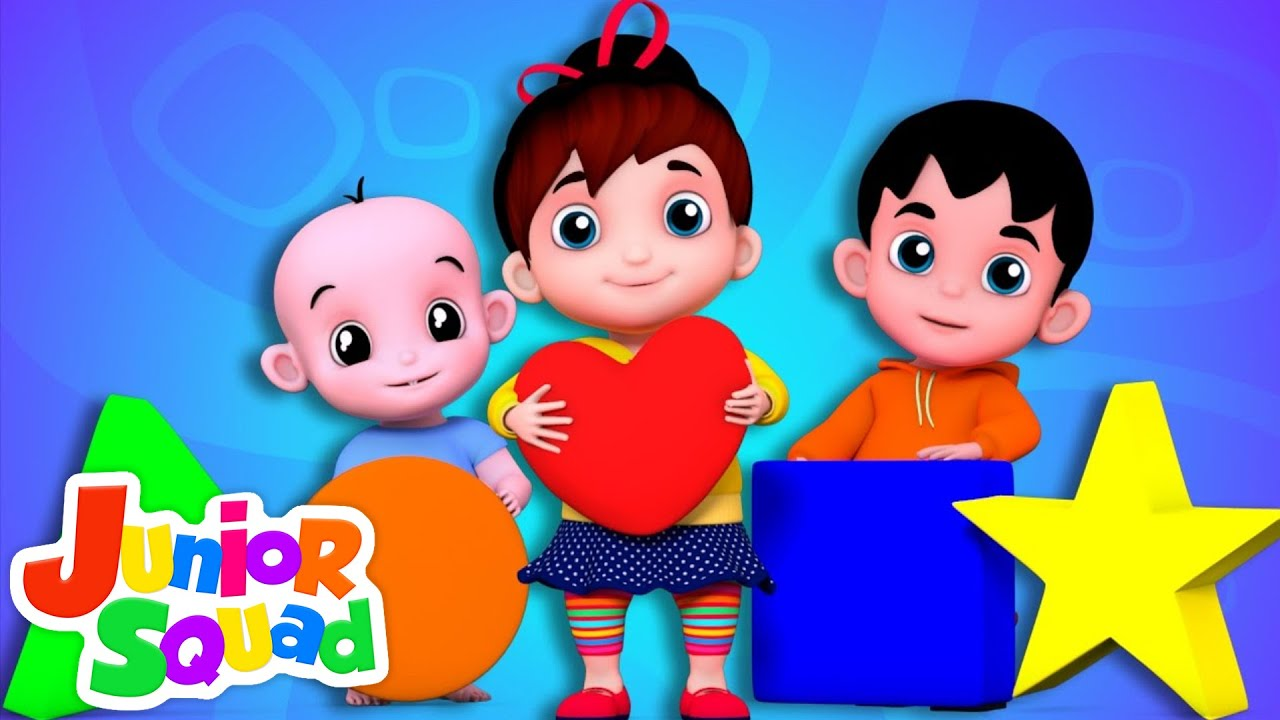 Junior Squad Shapes Song Nursery Rhymes Songs For