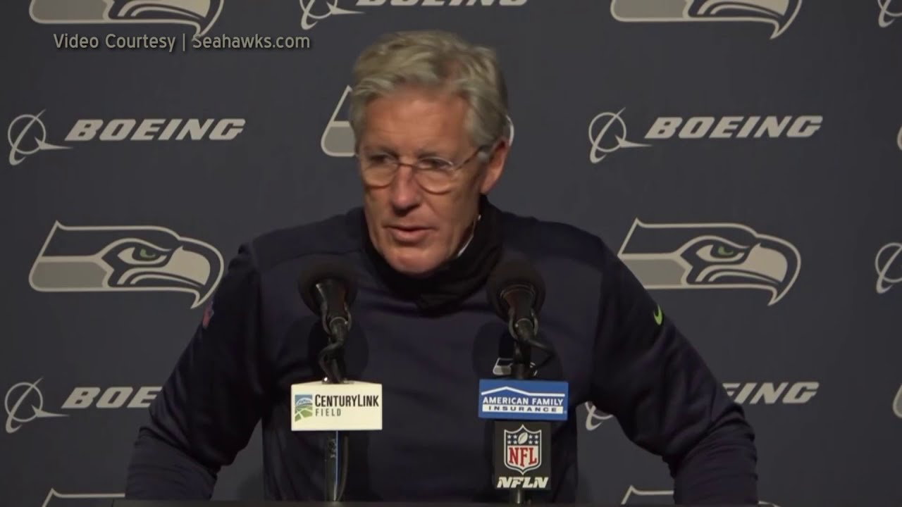 Pete Carroll on Defensive Play 2020-11-02