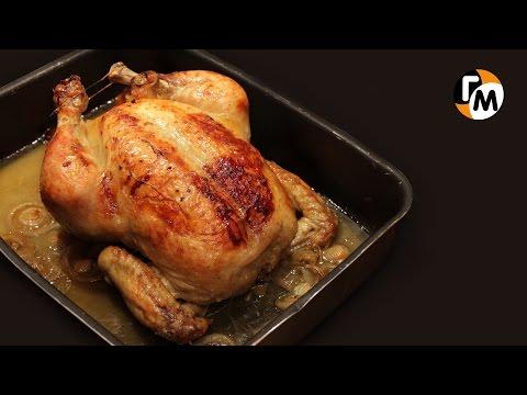 Курица запеченная в