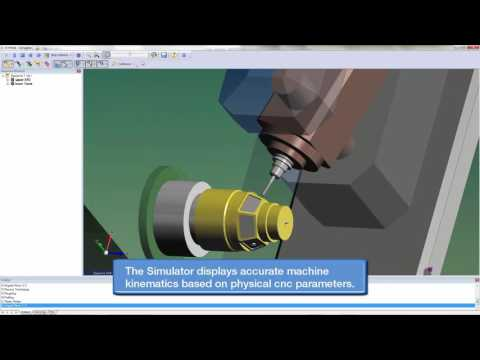 Machine Simulation and Verification with Surfcam