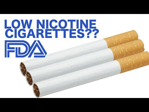 Low Nicotine Cigarettes?..... What?!