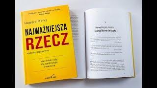 Najważniejsza rzecz (Howard Marks) - recenzja książki