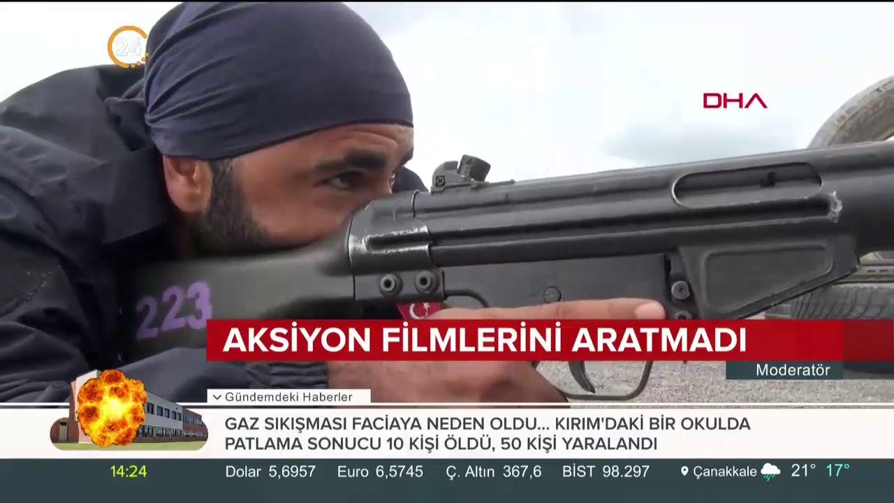 İstanbul polisine komando eğitimi veriliyor