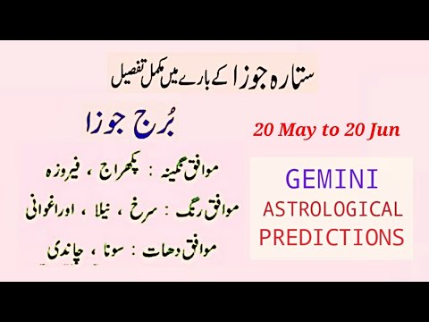 Gemini Afraad Kaisat Hotay Hain Horoscope In Hindi Urdu