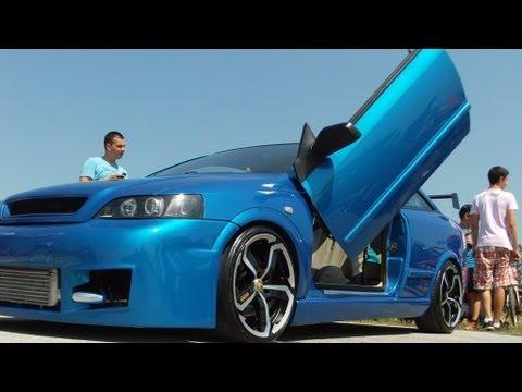 "Opel astra bertone coupe tuning  Prvi Tuzlanski ""Street Race Show 402m"""