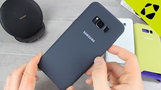Official Samsung Galaxy S8 Plus Silicone Cover Review - Hands On