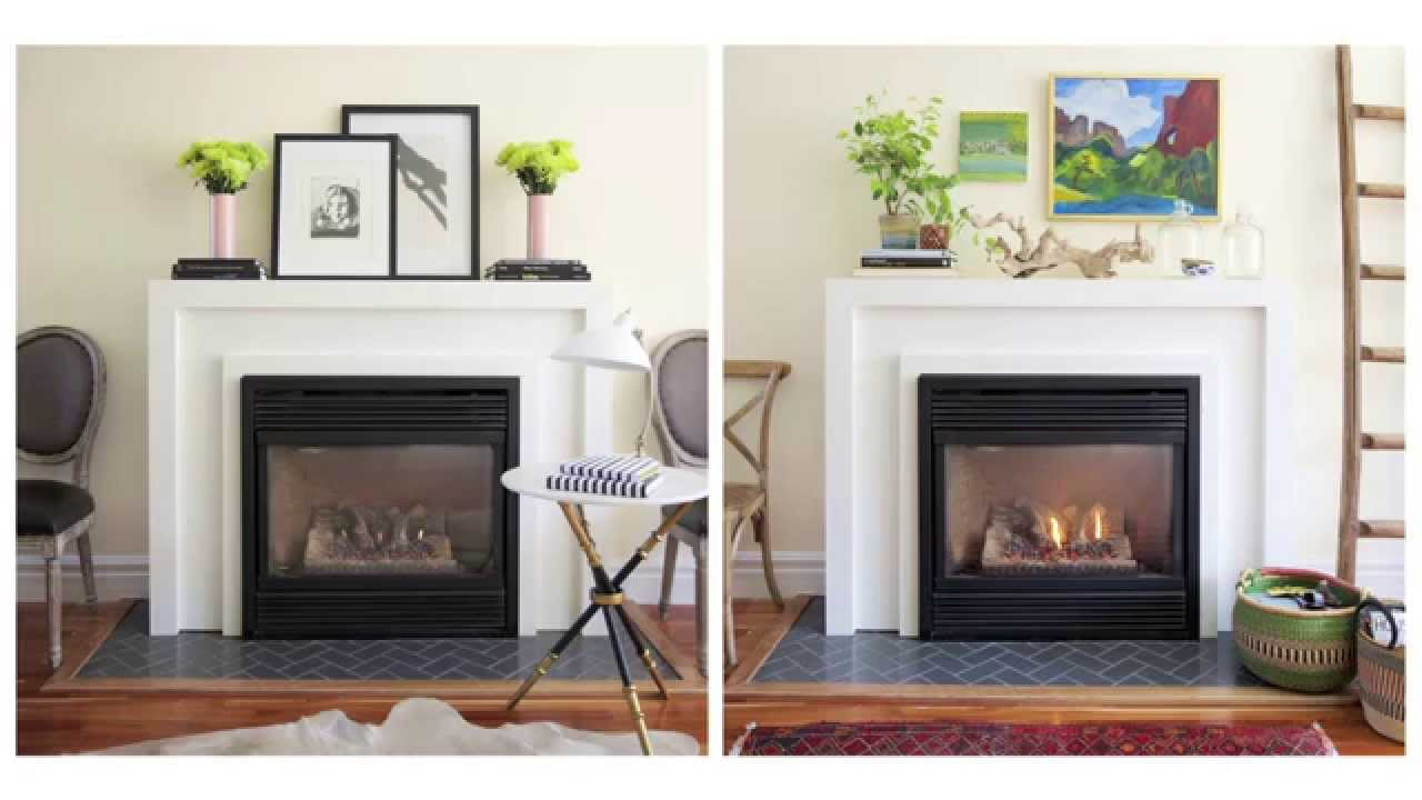 Interior Design — How To Make Over & Decorate A Fireplace Mantel ...