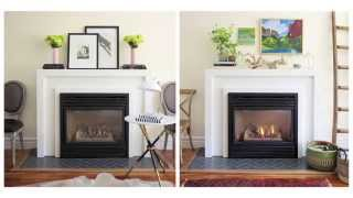 Interior Design — How To Make Over & Decorate A Fireplace Mantel