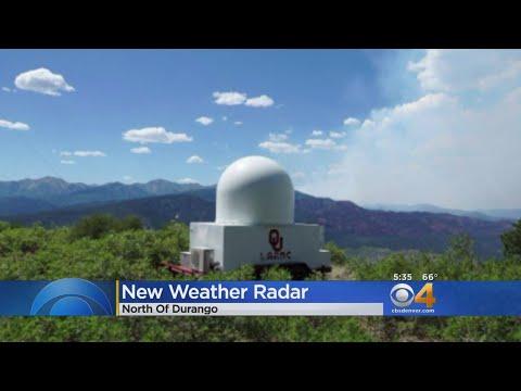 Temporary Doppler Fills 'Radar Hole' Near 416 Fire In Colorado