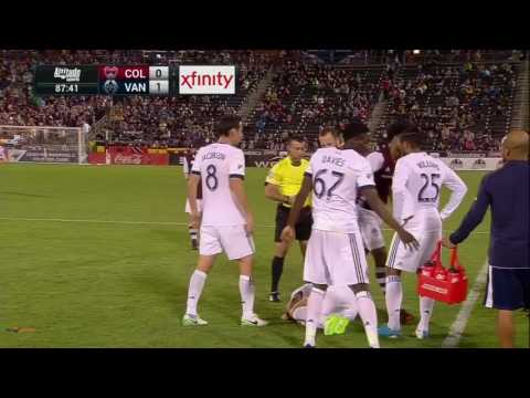 Colorado Rapids v Vancouver Whitecaps (87.26) - Second yellow card