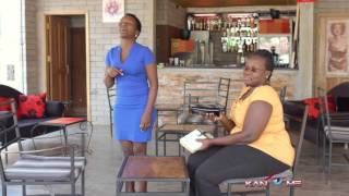 Its a bar not bus stop. kansiime anne. african comedy.