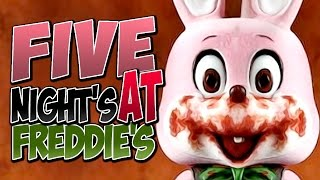 Five Nights At Freddys - SCARIEST GAME EVER!)#(¤/&T!(/Y()U)I=O?? (lol no) -