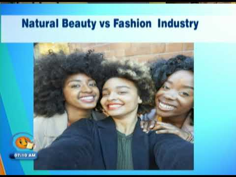 Natural Beauty vs Fashion Industry (TVJ Smile Jamaica) October 4 2018