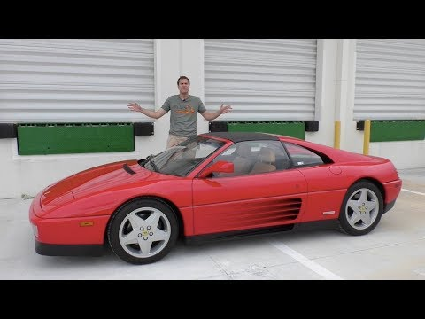Heres Why the Ferrari 348 Doesnt Deserve Its Bad Reputation