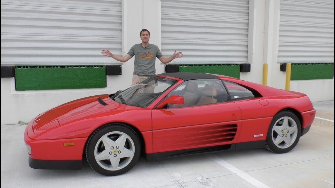 Here's Why the Ferrari 348 Doesn't Deserve Its Bad Reputation