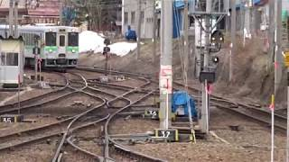 小樽駅の風景と函館本線の列車たち(731系・721系・キハ150形)