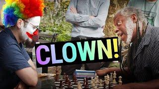 This Chess Hustler Called Me A Clown…