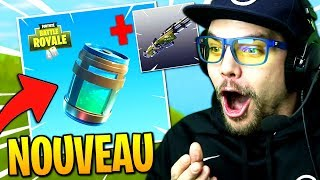 NOUVELLE POTION et ARME sur Fortnite: Battle Royale !!