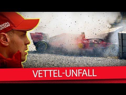 Sebastian Vettels Test-Unfall: Was ist passiert? – Formel 1 2019 (VLOG)