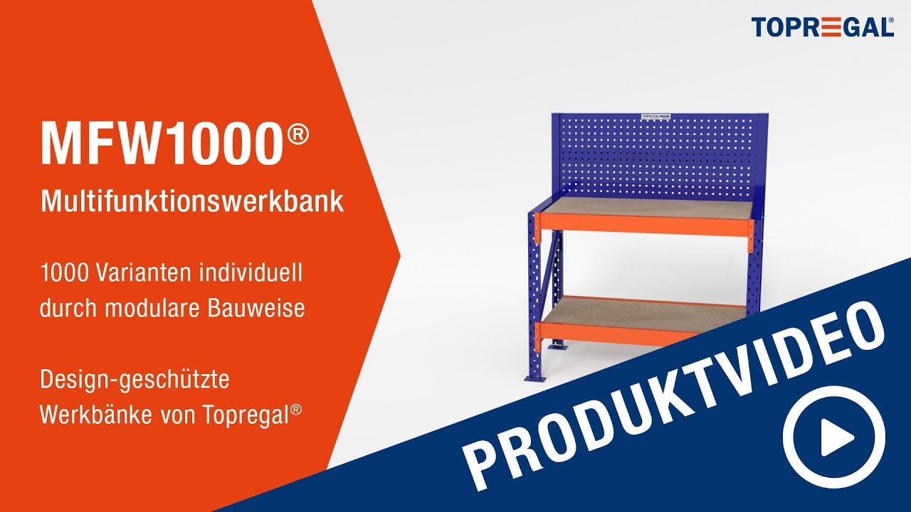 ✅ Multifunktions Werkbank MFW1000® - individuelle Werkbänke ...
