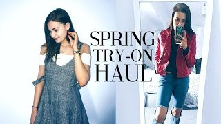 HUGE TRY-ON FASHION HAUL! Spring Clothing Haul 2018! | Zaful try-on & review | Caitlin Rose