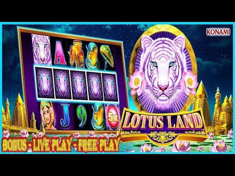 LOTUS LAND XTRA REWARD |  BONUS | FREE PLAY | LIVE PLAY | SAN MANUEL CASINO | SLOT MACHINE