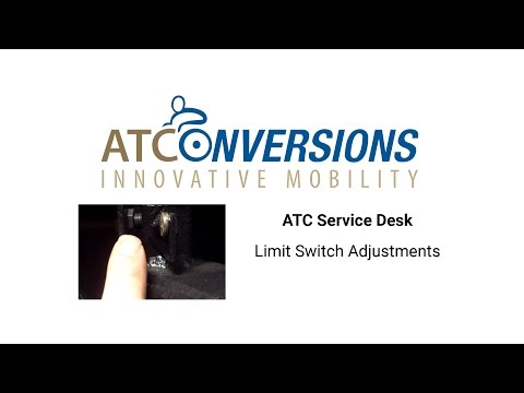 Limit Switch Adjustments