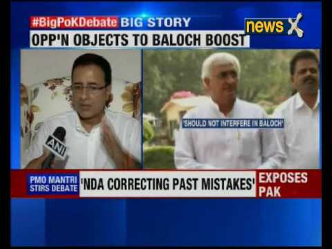 Salman Khurshid leaves Congress red faced, slams PM Modi on Balochistan but Cong distances itself