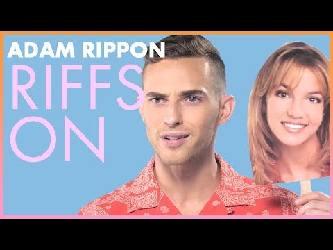Britney Spears | Adam Rippon Riffs On | Cosmopolitan