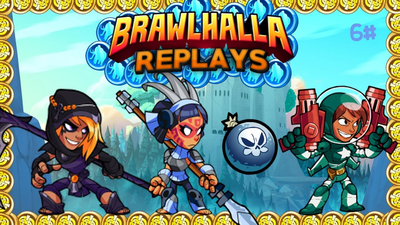 how to download replays brawlhalla