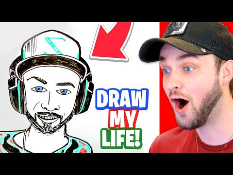 """Ali-A reacts to """"Ali-A DRAW MY LIFE""""!"""