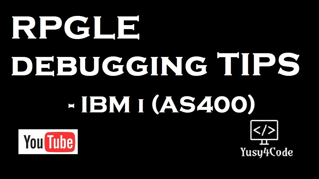 RPGLE Debugging Tips & Tricks by Mohammed Yusuf M