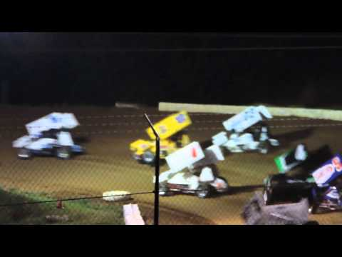 west siloam speedway sprint car crash