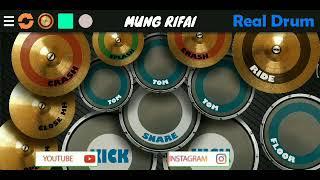 Download Lagu DJ Aku Ingin Kau Ada Disini - Tegar | Real Drum Amatir mp3
