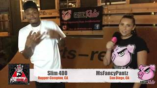 10.22.18MsFancyPantz catches up with Slim 400