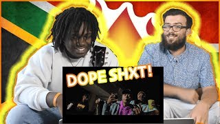 FLAME - MoneyToday (feat.  A-REECE) || Americans React To African Music (South African Rap)