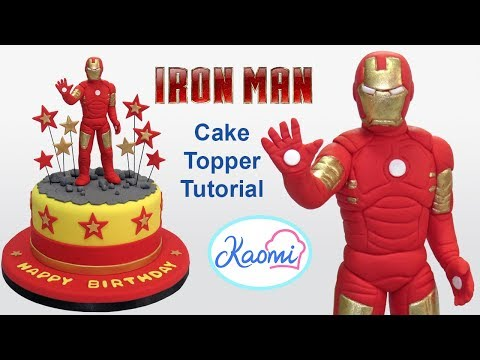 iron man wedding cake topper how to make iron cake topper c 243 mo hacer a iron 16492