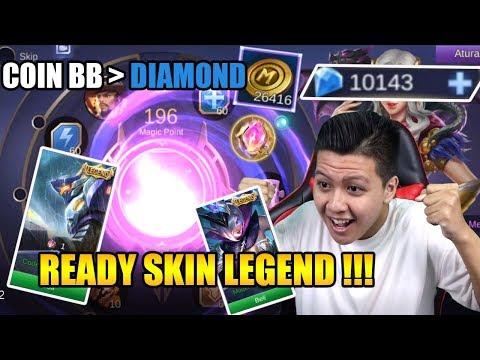 NGABISIN 26416 BB COIN + 10.000 DIAMOND BUAT LEGEND - Mobile Legend Bang Bang
