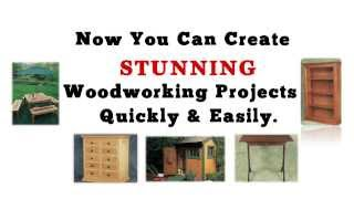 Woodworking Projects - 16,000+ Plans & Projects! Over 150 Videos!