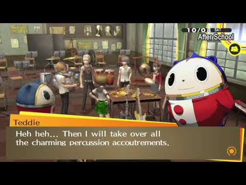 Persona 4 golden : (playstation vita) : part 106 : Band practice |