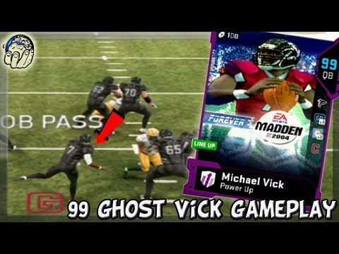 99 GHOST OF MADDEN MIKE VICK WINS HIS 1ST GAME! 99 GHOST VICK! Madden 19 Ultimate Team