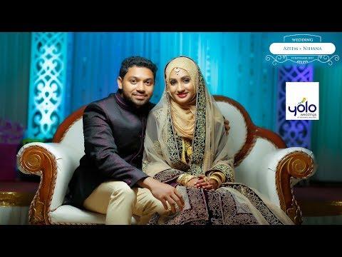 Best Muslim Wedding Highlights Azeem & Nihana I Baarish song