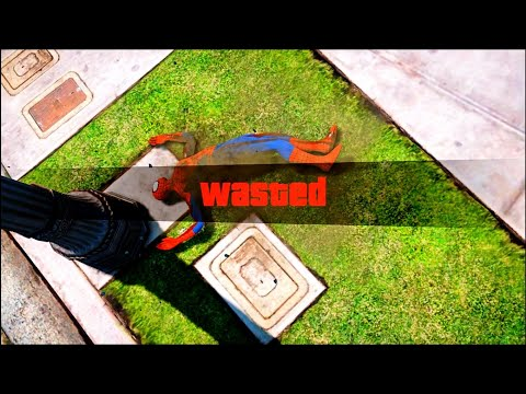 GTA 5 Epic Wasted Compilation SpiderMan ep.78 (Funny Moments)
