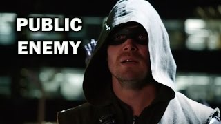 Arrow Season 3 Episode 18 - Review + Top Moments - PUBLIC ENEMY