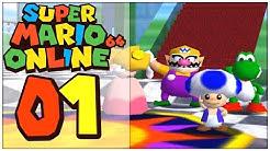Super Mario 64 Online Part 1: Zu VIERT durch das PILZKÖNIGREICH!