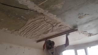 видео Выравнивание потолка в Саратове | Цена 320 Рублей за м2 под ключ, срок 1 день | Ремонт-64
