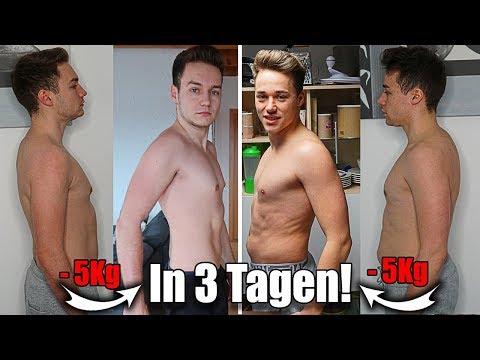 1 Kilo in 5 Tagen verlieren