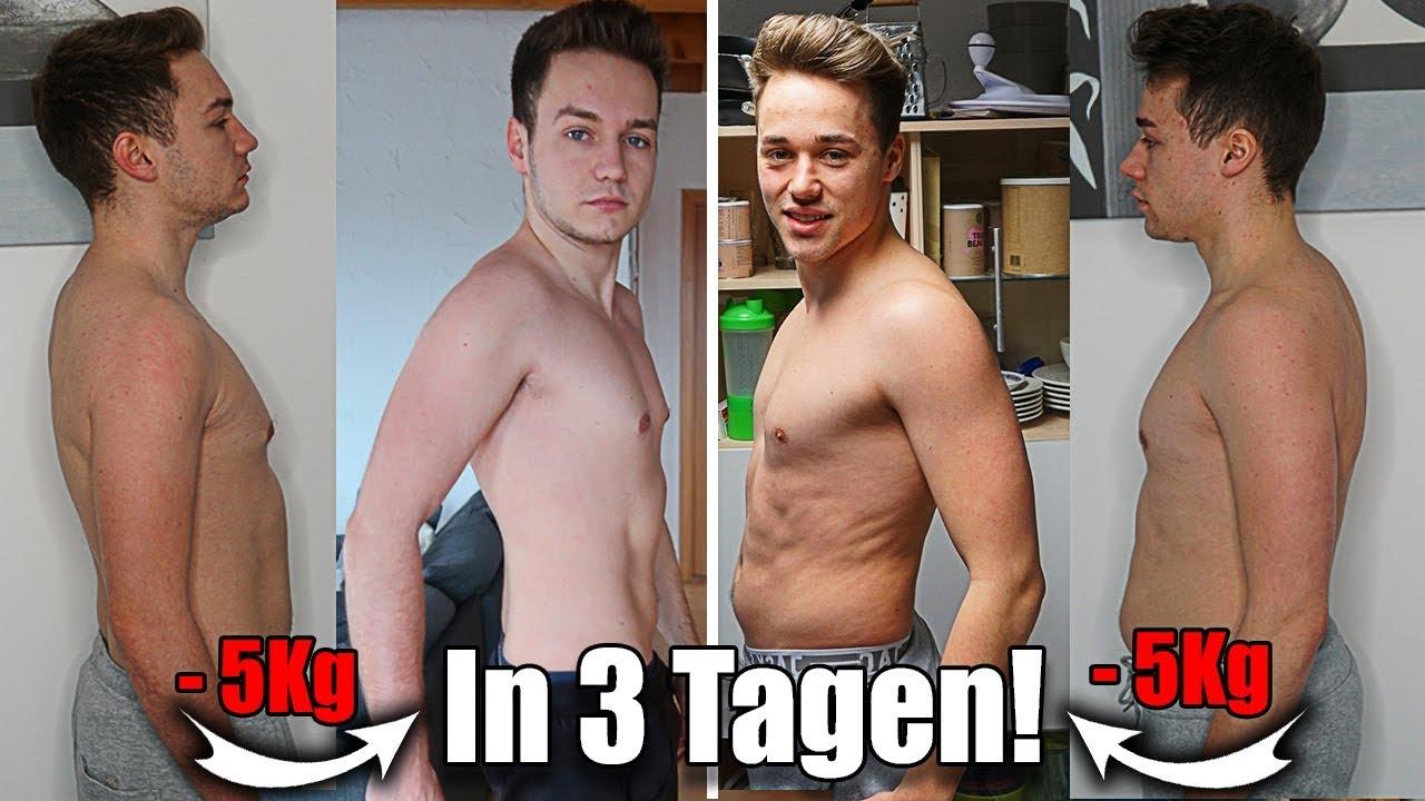5 Kilo in 3 Tagen Diät