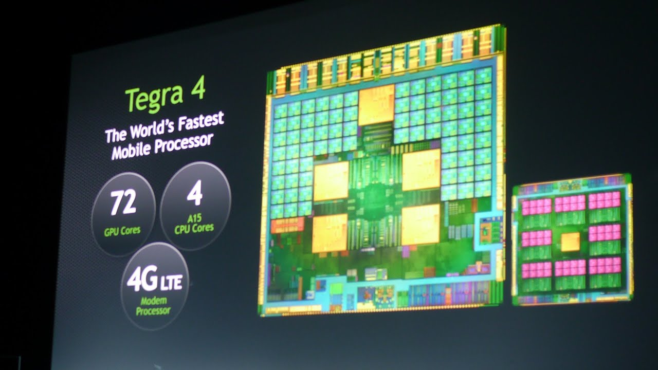 Nvidia Tegra 4: specs and features